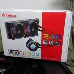 PCパーツ紹介-簡易水冷クーラー「ENERMAX LIQFUSION/ELC-LF240-RGB」