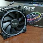 ケースファン「XSPC RGB120」に換装でケーブル作成再び・・・