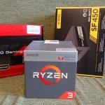 AMDのAPU「Ryzen3 2200G」とMini-ITXケース「METIS」で初めての小型PCを作った!
